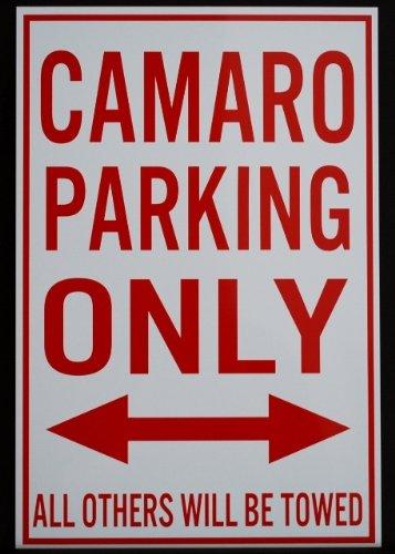 Alternatore CAMARO parcheggio solo di metallo - 12 x 18