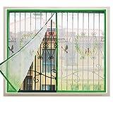 Proyección de ventana,Cortina de velcro,Con malla de fibra de vidrio durable,Puerta de pantalla magnética de cifrado Pantallas de ventana de detención de insectos Protección contra el sol Para Puertas correderas Balcones Dormitorio-F 150x120cm