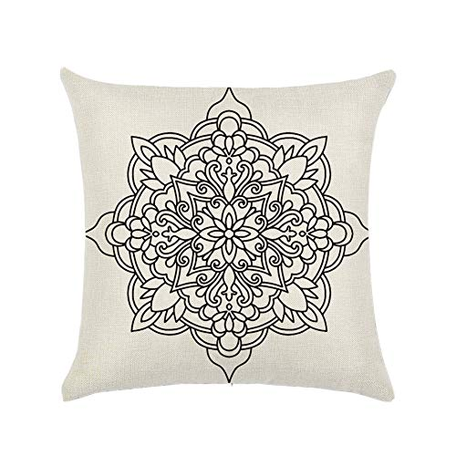 Chytaii.Throw Pillow Case para Sofa Funda de Cojines Bohemia Fundas de Almohada...