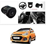 #10: AutoStark Silicone Flat Compact Safe Slim Power Handle Steering Wheel Spinner Knob Hyundai Grand I10