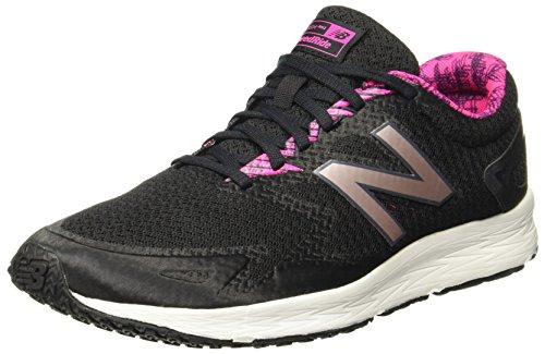 New Balance Damen WFLSHL Flash V2 Laufschuhe, Schwarz (Black/Pink/WFLSHLB2), 39 EU (Road Laufschuhe Damen)