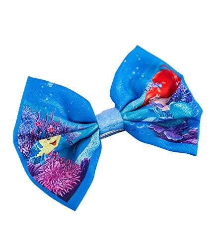 SIX Kids Disney Ariel Haarspange mit Schleife, Meerjungfrau, Kostüm - Meerjungfrau Kostüm Kid