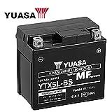 Wartungsfreie 12V Batterie - YUASA - YTX5L-BS - 4Ah - inkl. Pfand - für Aprilia Scarabeo, SR Racing, SR Sport, SR Factory, Dietech