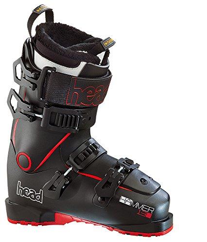 Ski Head 130 (Head Hammer 130 Skischuhe, Schwarz 26 Rot)