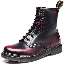 SITAILE Unisex-Erwachsene Bootsschuhe Derby Schnürhalbschuhe Kurzschaft Stiefel Winter Boots für Herren Damen Gefüttert