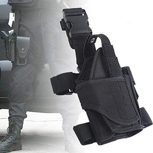 Yunwal Unisex verstellbar Tornado Beinholster Pistolenholster Gürtelbefestigung Tiefziehholster Oberschenkelholster Messer Damen Schulter Bein -