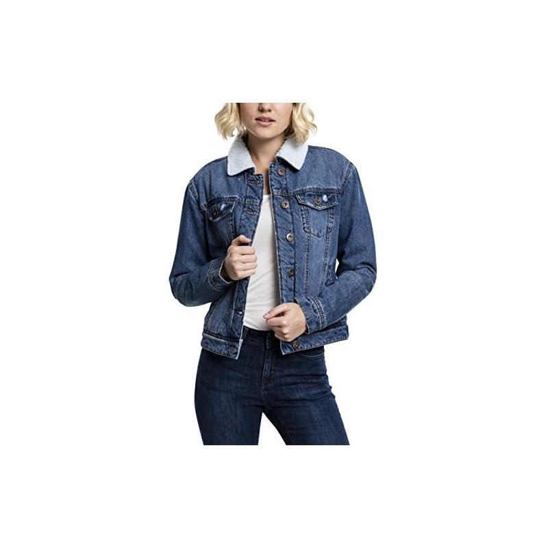 Jeansjacke Stickerei immer toll gestylt