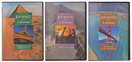 Reader's Digest Journey of a Lifetime, Australia to the Americas, Europe and the Middle East, Africa and Asia, 3 DVD Set