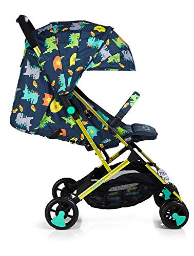 Cosatto Woosh 2 Stroller Dragon Kingdom with raincover and Bumper bar Birth to 25kg Best Price and Cheapest