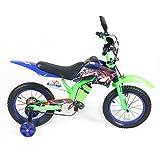 HUALQ Fahrrad, Kindermotorrad, 12/16 Zoll Off-Road Motorrad Junge