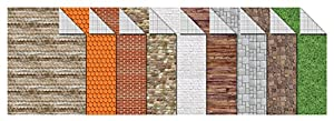 Ursus 11404699Cartulina de construcción, 300g/m², DIN A4, 9Hojas Surtidos en Motivos 9