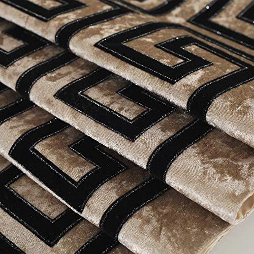 Qinqin666 Tischläufer Sinn für Mode der luxuriösen minimalistischen Stil Tisch Läufer Tischfahne Fahne Creme Farben 32x180cm
