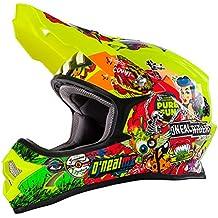 O 'Neal 3Series Motocross Enduro casco para bicicleta de montaña Crank Amarillo/Multi 2017Oneal