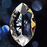 VStoy Kristall-Prismen für Lampe/Kronleuchter, 50mm, 5Stück