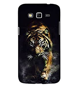 Fuson Designer Back Case Cover for Samsung Galaxy Grand Neo I9060 :: Samsung Galaxy Grand Lite (Beautiful Tiger Cute Tiger LOvely Tiger Wild Angry Tiger Angry Wild Tiger)