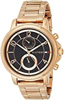 Tommy Hilfiger Womens Quartz Watch, Analog Display and Stainless Steel Strap 1781820