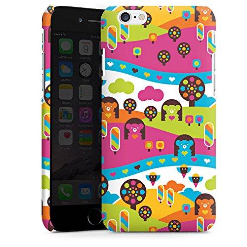 Apple iPhone X Silikon Hülle Case Schutzhülle Wolken Herzen Süßigkeiten Premium Case matt