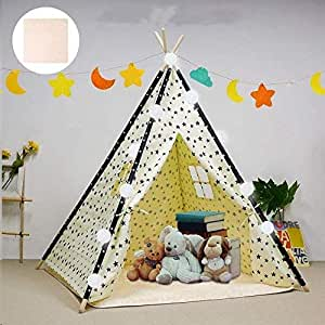 arkiido-kids-teepee-play-tent-foldable