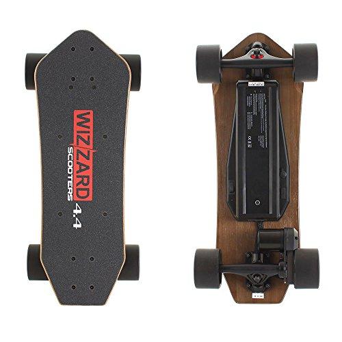 Longboard-lectrique-Wizard--Couleur-44-City-Skateboard-lectrique-Scooter-lectrique-Longboard-porte-35-KM-30-kmh