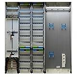 TM: 13127: Hager Zählerschrank 2x 3.HZ Zähler + 2x Verteiler + 1x Multimediafeld 2-reihig 1400mm ZB55S
