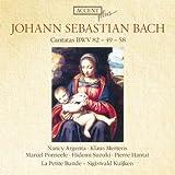 Bach: Cantatas Bwv 82, 49, 58 / Argenta, Mertens, Ponseele, Suzuki, Hantai, La Petite Bande - Kuijken / Accent Plus