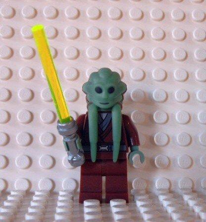 LEGO Star Wars Figur Kit Fisto mit Laserschwert