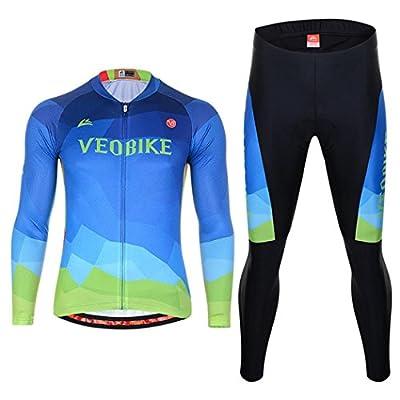 XY-QXZB Herren Frühling und Sommer Langarm-Reiten Anzüge, Bike Ride Kleidung