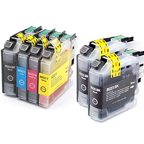 Pure-color sostituzione per Brother LC223 Cartuccia d'inchiostro compatibile per Brother MFC-J5625DW DCP-J4120DW MFC-J5320DW J4625DW DCP-J562DW J4620DW J5720DW J480DW J5620DW J4420DW J680DW J880DW