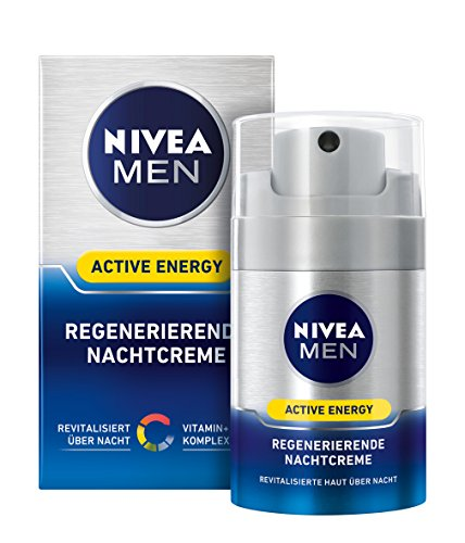 Nivea Men Active Energy Regenerierende Nachtcreme, 1er Pack (1 x 50 ml)