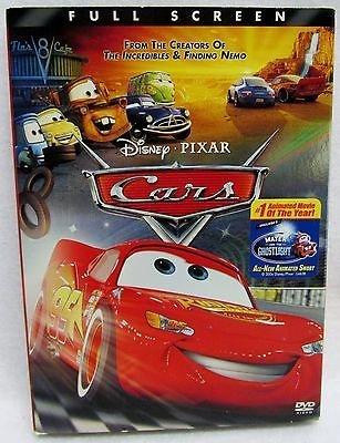Disney Pixar's Cars the Movie: Full Screen Edition DVD (Disney Pixar Cars-film)