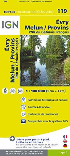 Top100119 Evry/Melun/Provins 1/100.000
