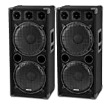 McGrey DJ-2222 Enceintes Party basement / DJ Paire 2 x 1000W