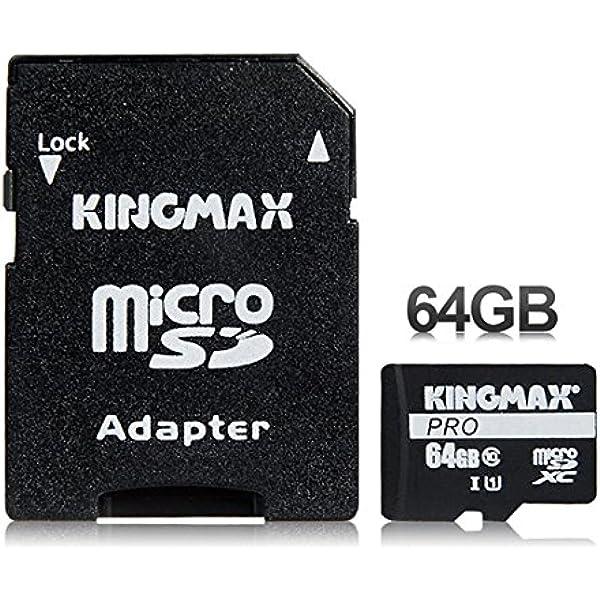 Kingmax 64gb Class 10 Tf Micro Sd Karte Mit Adapter Kamera