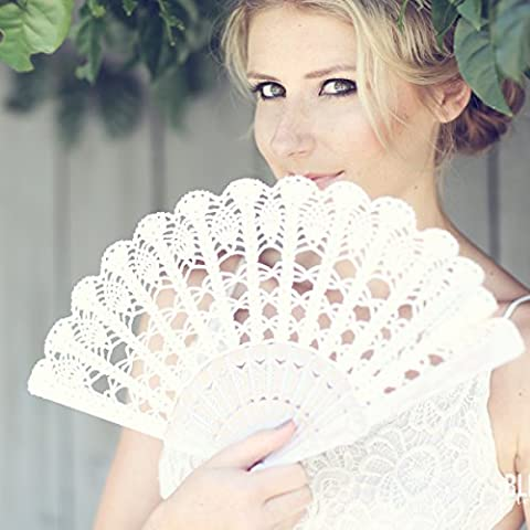 Wedding hand fan, Bridal or Mother of the Bride Gift,