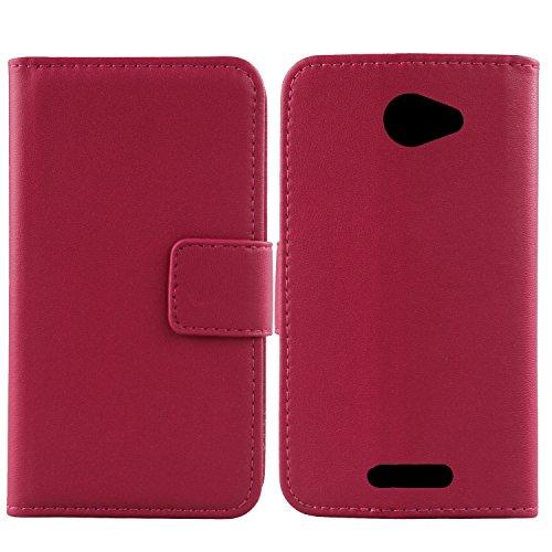 Gukas Design Echt Leder Tasche Für Alcatel One Touch Pop 4S 5.5