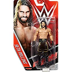 SETH ROLLINS - WWE SERIE BASIC 63 MATTEL GIOCATTOLO WRESTLING ACTION FIGURE