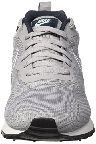 Nike Md Runner 2 Br, Chaussures De Sport Pour Homme Gris (gris Loup / Gris Loup / Navy Armory Nav)