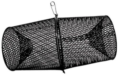 Frabill Minnow Trap Heavy-Duty Vinyl Dipped Steel Mesh Construction (Black) by Frabill -