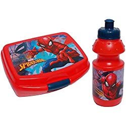 Spiderman Set portamerenda borraccia 48966