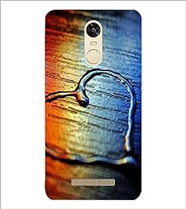 PrintDhaba Heart D-2069 Back Case Cover for XIAOMI REDMI NOTE 3 MEDIATEK (Multi-Coloured)