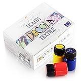 Hochwertiges Textilfarbe Set
