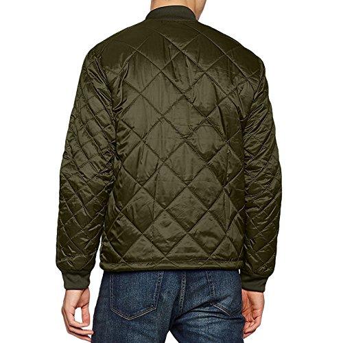 adidas Herren Quilted Superstar Jacke grün