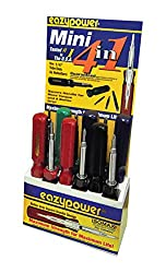Eazypower 86596 12-pack Pink 4-in-1 Camper, Mobile Home, Rv Screwdriver 14-inch Hex;