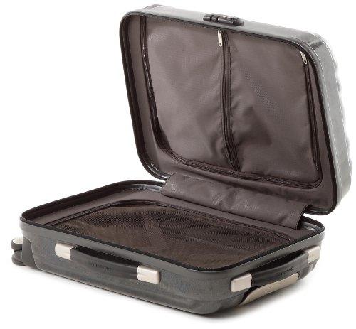 Samsonite Koffer Handgepäckkoffer Cubelite SPINNER, 55 cm, 29 Liter, graphite, 41359 Grau