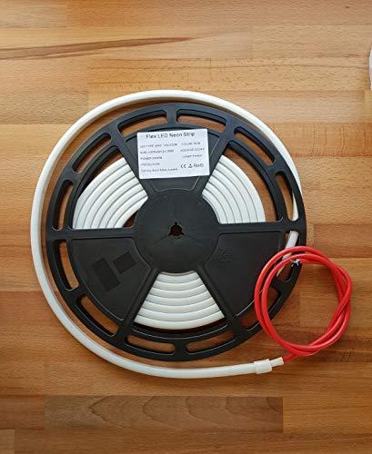 LED Flex Neon IP68 RGB für SPA Schwimmbad, ohne Lichtpunkte, Dauerlicht Rolle 5Meter - Flex-led Ändern