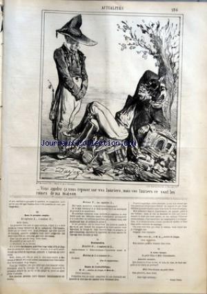 CHARIVARI (LE) du 29/08/1864 - LA SEMAIN...