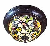 Graf von Gerlitzen Tiffany Lampe Tiffanylampe Deckenlampe GN104SM