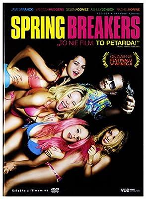 Spring Breakers [DVD]+[KSIĄŻKA] [Region 2] (IMPORT) (Keine deutsche Version)