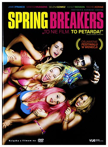 Spring Breakers [DVD]+[KSIĄŻKA] [Region 2] (IMPORT) (Keine deutsche Version)