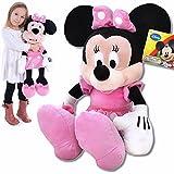 Plüschtier Minnie Maus große XXL Plüschfigur Disney aus Micky Maus Wunderhaus 62cm